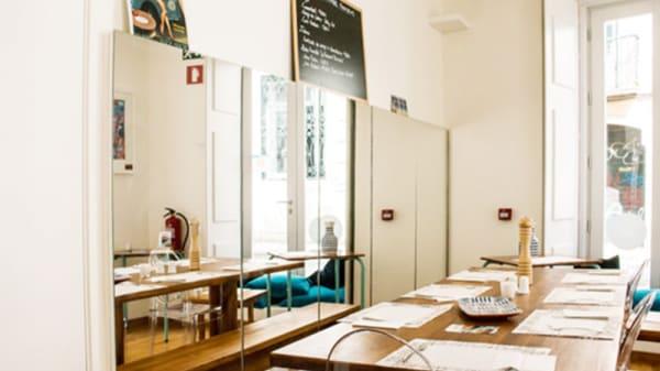 Vista da sala - Chipie la Galette, Lisbon