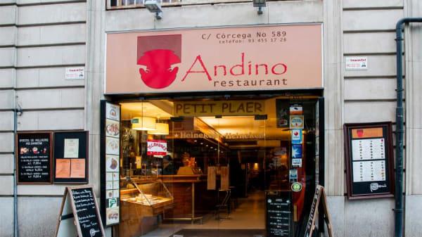 entrada - Andino, Barcelona