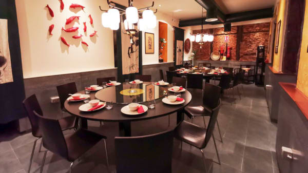 Vista de la sala - Restaurante de Sichuan, Madrid