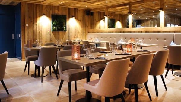 Vue de la salle - Sopar, Fontcouverte-la-Toussuire
