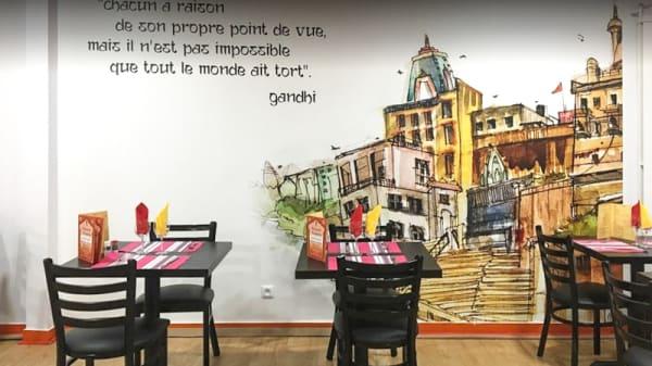 Salle du restaurant - Annapurna, Brest