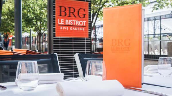 Terrasse du restaurant Bistrot Rive Gauche - Le Bistrot Rive Gauche (BRG), Lyon