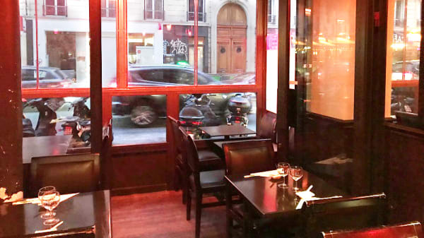 Vue de la salle - Sushi Japo, Paris