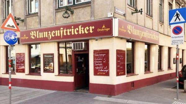 Fassade - Blunzenstricker, Wien