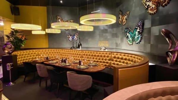 Het restaurant - Restaurant Blanche Marie, Haia