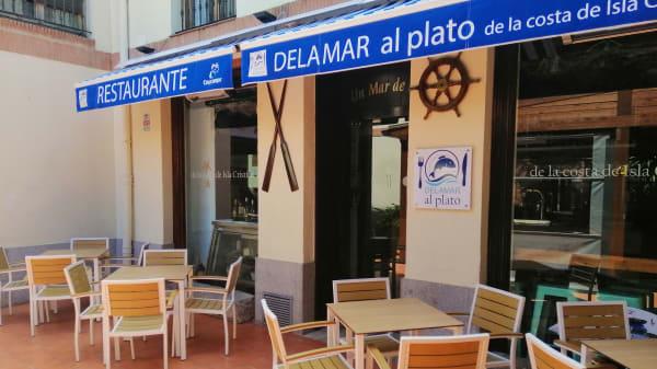 Entrada - Delamar Al Plato, Alcalá de Henares