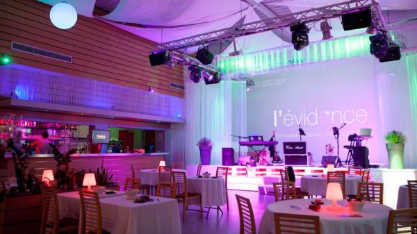 Salle du restaurant - L'Évidence, Saint-Maximin-la-Sainte-Baume