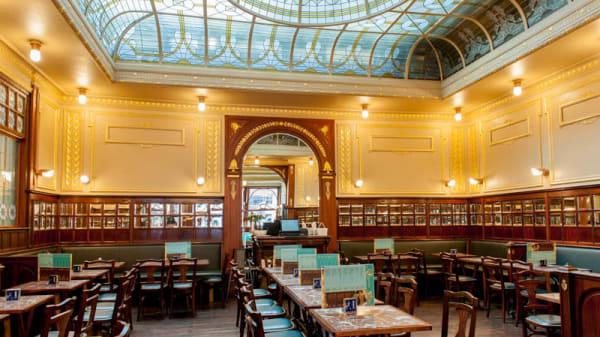 Vue salle - Greenwich Café, Brussels