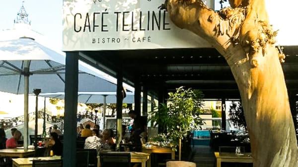 Vue devanture - Café Telline, Grimaud