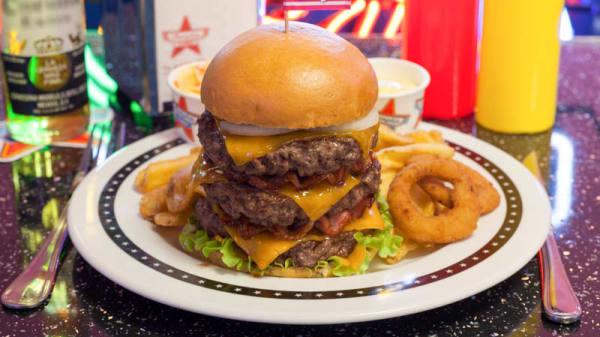 Burgers - Haché de boeuf 100g - Memphis Pau, Pau