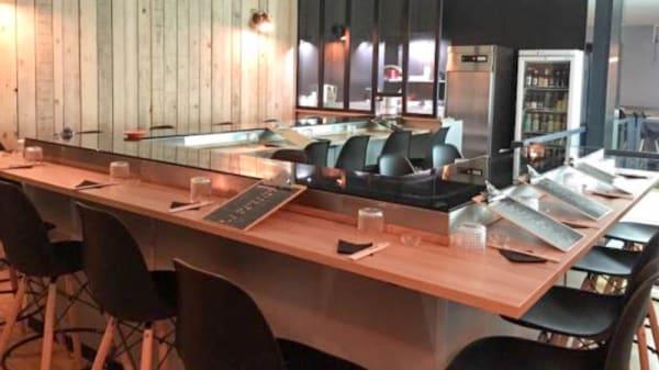 Vue de la salle - L'Atelier du Sushi et Poke Bowls, Grenoble