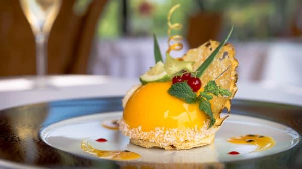 dessert - Najeti Le Berthier, Abbé