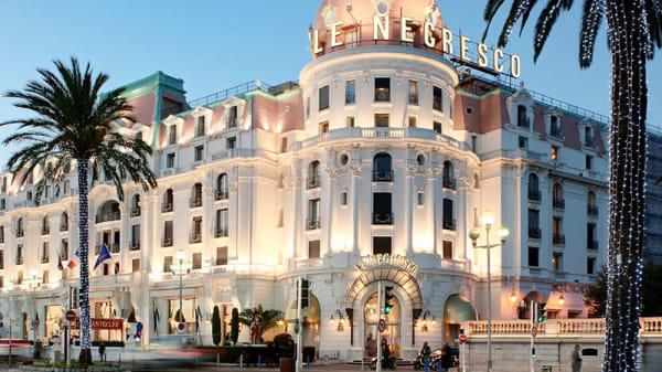 Devanture - XXXXXXXXXXXLe 37 Pop - Hôtel Negresco, Nice