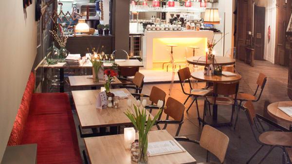 restaurantzaal - Dijkers eten & drinken, Haarlem