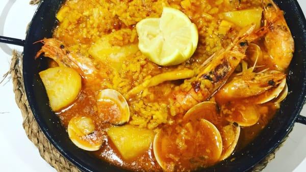Sugerencia del chef - Cafetería Aqua Dolce, Valencia