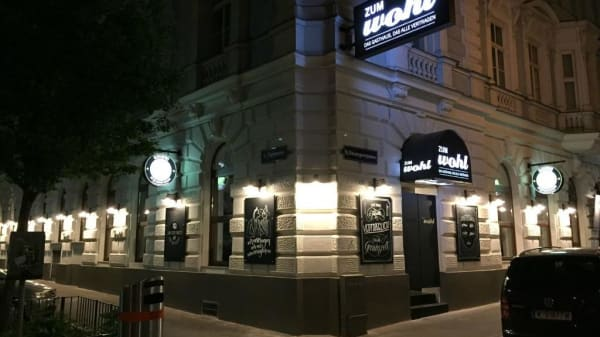 Fassade - Zum Wohl, Wien