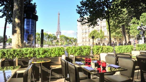Terrasse - Chez Francis, Paris