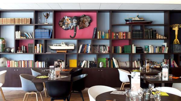 Vue de la salle - La Brasserie, Nantes