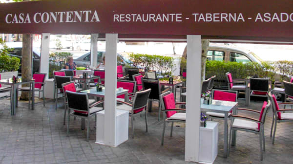 La terraza - Casa Contenta, Madrid
