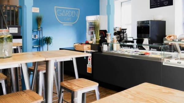 Vue de la salle - Garden Café, La Rochelle