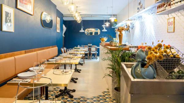 Vue de l'intérieur - Toinou Oyster Bar, Bordeaux