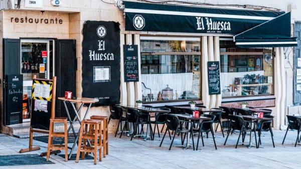 Entrada - El Huesca, Málaga