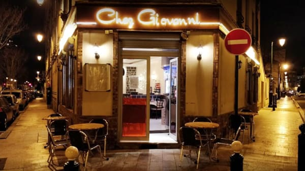 Devanture - Chez Giovanni, Puteaux