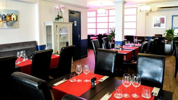 restaurant design - Brasserie de la mer, Calais