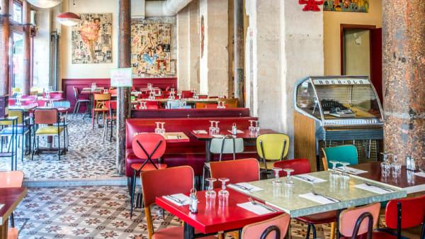 Salle - YoupiBrunch - Chez Gladines les Halles, Paris