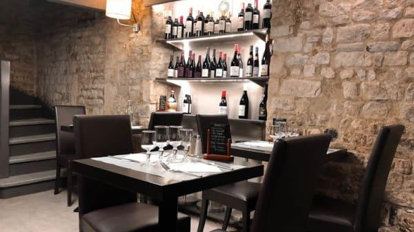 Vue de la salle - Le Marsala, Bayeux