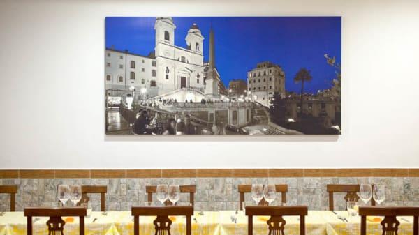Decorazione ambiente - La piazzetta del gusto, Rome