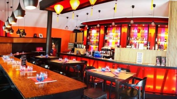 Interieur - Lotus Café Zen, Lacanau