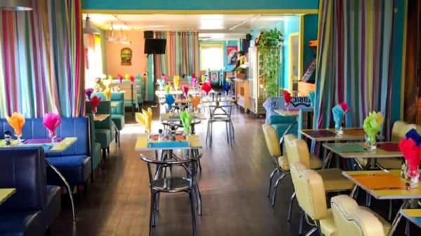 Vue de l'intérieur - Diner's 66, Châteaurenard