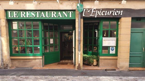 Entrée - L'Epicurien, Metz