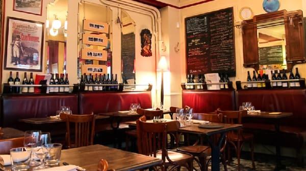 Salle du restaurant - Restaurant du Marché, Paris