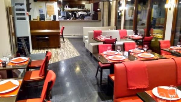 Vue de la salle - Restaurant l'Atlantique, Quiberon