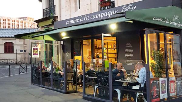 Devanture - Comme à La Campagne, Paris