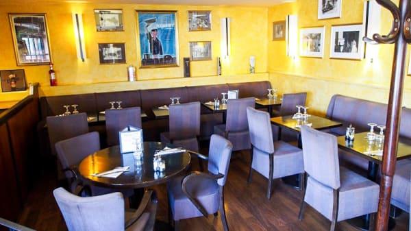 Vue de la salle - Gamma Cafe, Paris