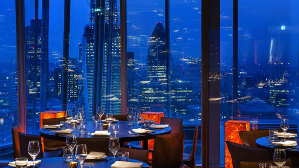 Oblix West at The Shard, London