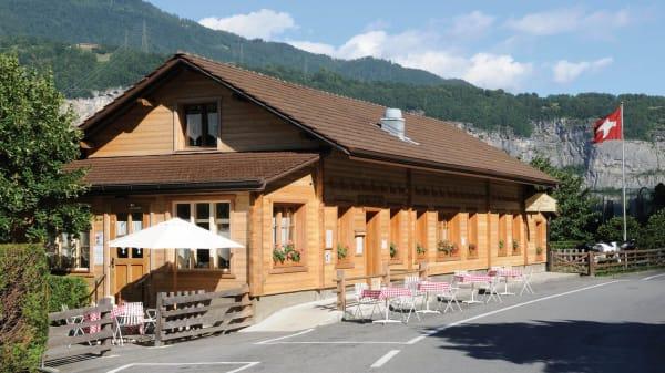 Façade - Le Chalet des Bains - Lavey, Lavey-Morcles