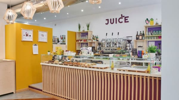 Vista sala - Juice Bio Bistrot & Cafe, Alessandria