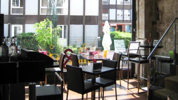 Salle du restaurant - Verrines et sens, Rouen
