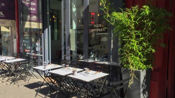 Terrasse - Oggi Pizze, Paris