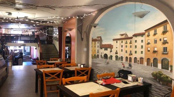 La sala interna - Cacio@pepe, Lucca