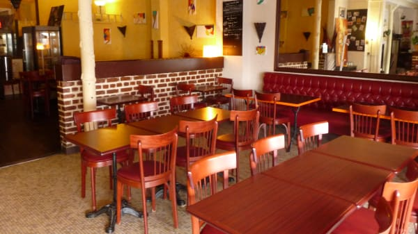 Salle de restaurant - Le Titi Touareg, Montrouge