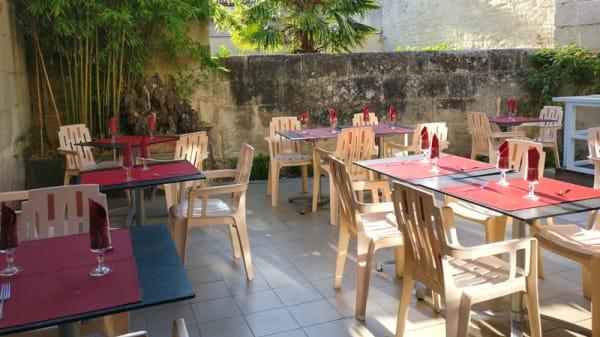 Terrasse - Le Mandarin, Saintes