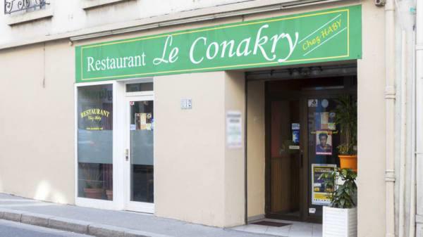 façade - Le Conakry, Lyon