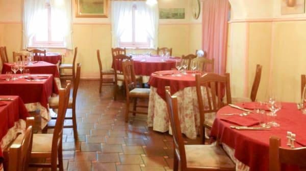 Vista sala - Antica Osteria del Previ, Pavia