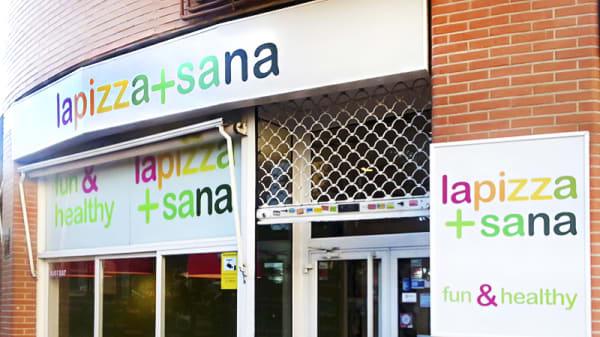Entrada - Lapizza+sana, Madrid