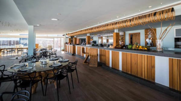 Vista sala - Sir Rocco Beach Restaurant, Sant Jordi De Ses Salines